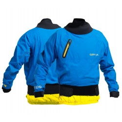 Gul Yampa Waterproof Breathable Dry Cag -  Blue Aster/Yellow