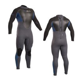 Gul Mens Response 3/2mm Full Wetsuit – Blue/Graphite